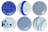 Royal Doulton Pacific Set of 6 Tapas Plates