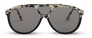 Persol Men's 59MM Three-Lens Pilot Sunglasses