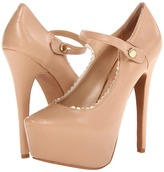 Betsey Johnson Ellaa (Nude Leather) - Footwear
