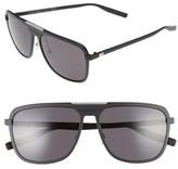 Christian Dior Men's 59Mm Sunglasses - Matte Black