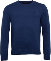 Polo Ralph Lauren Mens Crew Neck Sweater Shale Blue Heather