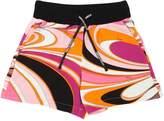 Emilio Pucci Printed Light Viscose Sweat Shorts