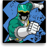 Power Rangers Green Ranger Wall Canvas