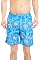 Peter Millar Men's Paradise Paisley Swim Trunks