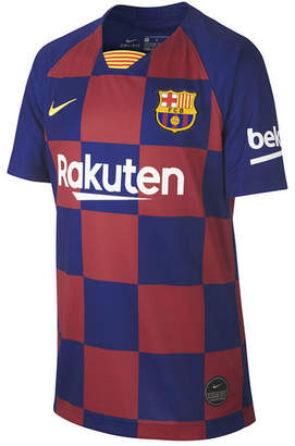 Nike Big Boys Fc Barcelona Club Team Home Stadium Jersey
