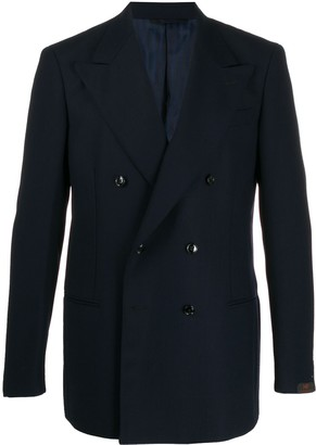 Piombo MP Massimo Helmut double-breasted blazer