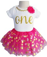 Perfect Pairz 1st Birthday Outfit Baby Girl Tutu