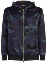 Balmain Camouflage Print Jacket
