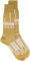 Ayame beige Basket Lunch patterned socks