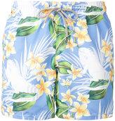 MC2 Saint Barth floral print swim shorts - men - Polyamide/Polyester/Spandex/Elastane - XXXL