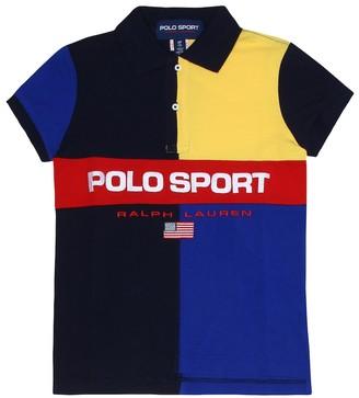 Polo Ralph Lauren Kids Logo cotton polo shirt