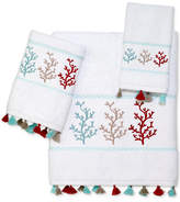 Avanti Coral Trio Cotton Hand Towel Bedding
