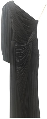 Maria Lucia Hohan Black Silk Dress for Women