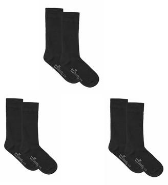 Boody Eco Wear Men's Work Boot Socks - Set of 3