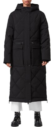 AllSaints Lucie Hooded Down Puffer Coat