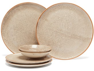 Brunello Cucinelli Set Of Two Dinner Plates, Side Plates And Bowls - Cream