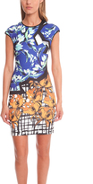 Clover Canyon Neoprene Floral Dress