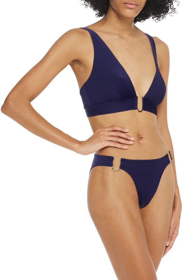 Thumbnail for your product : I.D. Sarrieri Cutout Low-rise Bikini Briefs