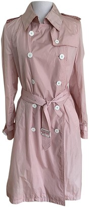 Burberry Pink Synthetic Coats