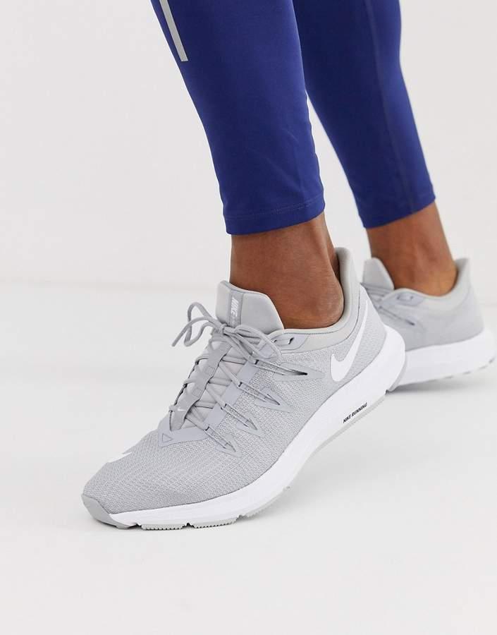 Nike Running Quest sneakers in grey aa7403-010