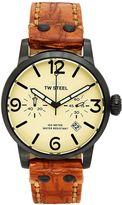 TW Steel Men's Maverick Leather Chronograph Watch