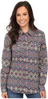 Roper 0448 Aztec Print Retro Shirt