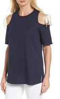 Halogen Tie Cold Shoulder Top (Regular & Petite)
