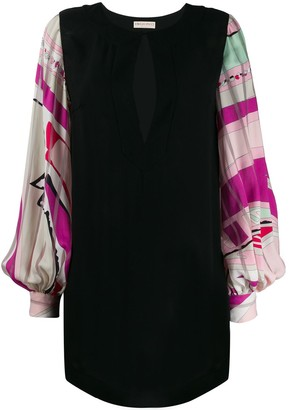 Emilio Pucci Balloon Sleeve Dress