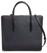 Christian Louboutin Large Paloma Leather Tote - Black