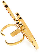 Lanvin Cool Two-Finger Ring