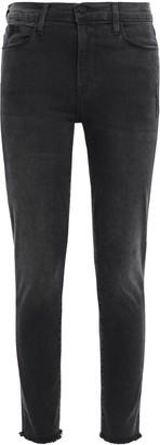 Frame Zepplin Distressed Mid-rise Skinny Jeans