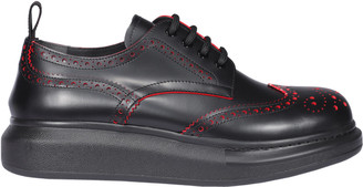 Alexander McQueen Hybrid Laced Up Shoes