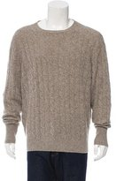 Loro Piana Baby Cashmere Cable-Knit Sweater