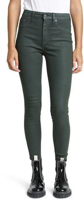 Pistola Denim Aline High Waist Coated Skinny Jeans