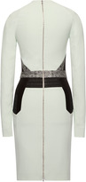 Antonio Berardi Cady And Check Jacquard Dress