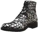 Donna Più Women's 9658 Lia Boots Silver Size: 5