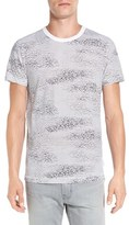 French Connection Men's 'Radar Scribble' Print T-Shirt
