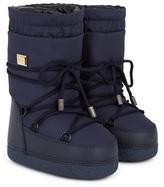 Dolce & Gabbana Navy Snow Boots