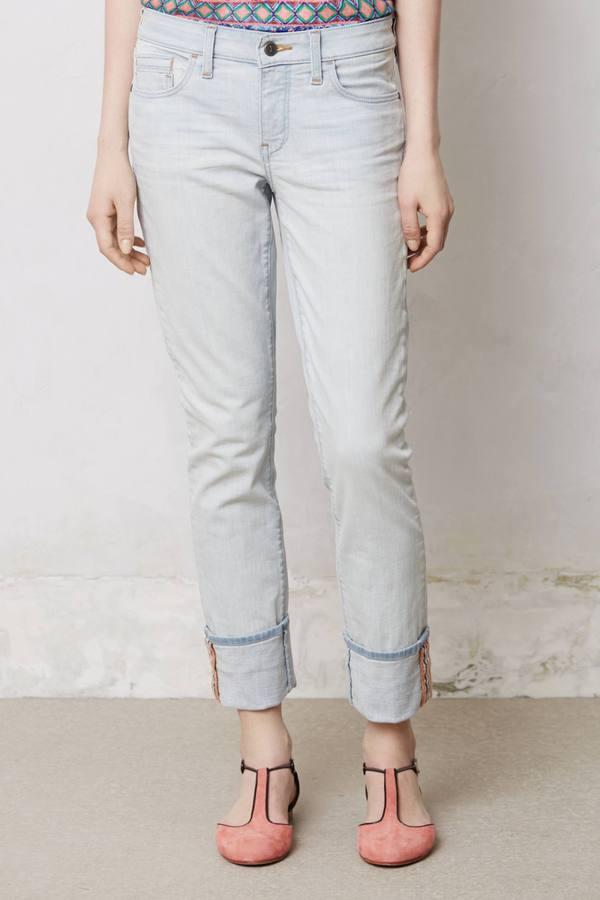 Anthropologie Pilcro Stet Cuffed Jeans