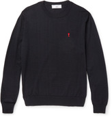 Ami Merino Wool Sweater