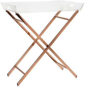 IMAX Worldwide Home Clinton Acrylic Tray Table