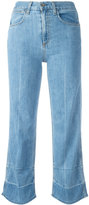 Rag & Bone Jean - 'Lou' cropped jeans - women - Cotton/Polyurethane - 23