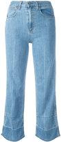 Rag & Bone Jean - 'Lou' cropped jeans - women - Cotton/Polyurethane - 25