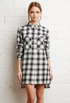 Forever 21 FOREVER 21+ Tartan Plaid Flannel Dress