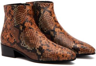 Aquatalia Fuoco Weatherproof Leather Bootie