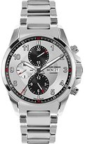 Jacques Lemans Men's 1-1750E Liverpool Automatic Analog Display Swiss Automatic Silver Watch