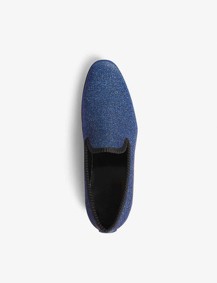 Aldo Vanrena metallic loafers