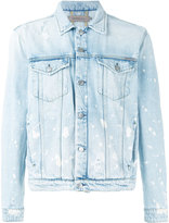 Calvin Klein Jeans splattered denim jacket - men - Cotton - L