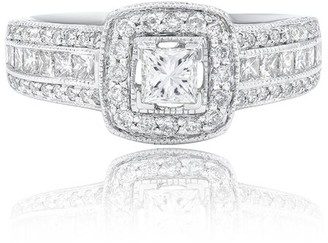 Diana M Fine Jewelry 14K 1.00 Ct. Tw. Diamond Engagement Ring