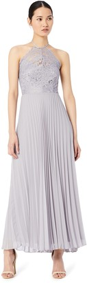 Amazon Brand - TRUTH & FABLE Women's Maxi Lace Dress